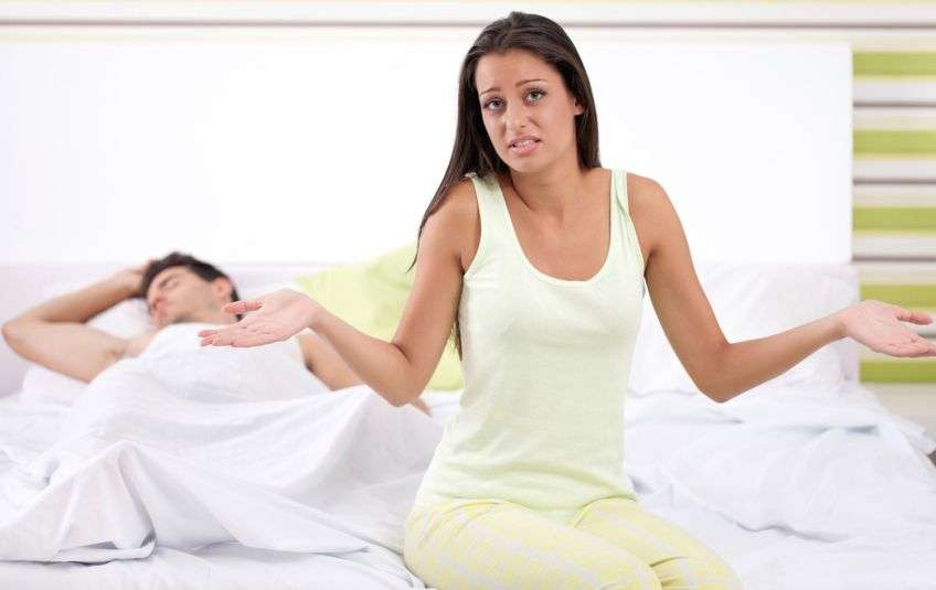 Не получаю удовольствия с мужем
