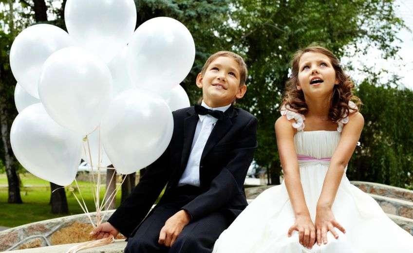 Поздравление от детей на свадьбе