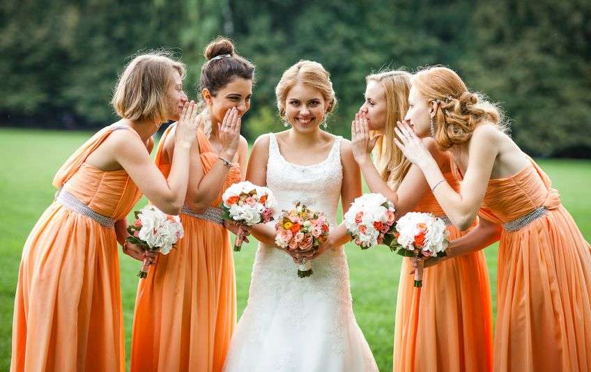 Виды пожеланий от подруги для невесты