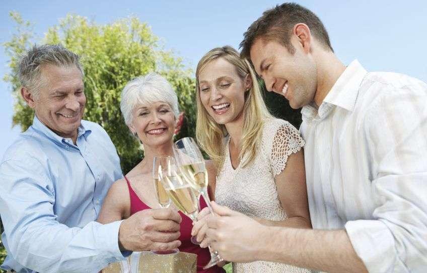 поздравительные тосты родителей