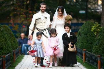 Национальная кавказская свадьба