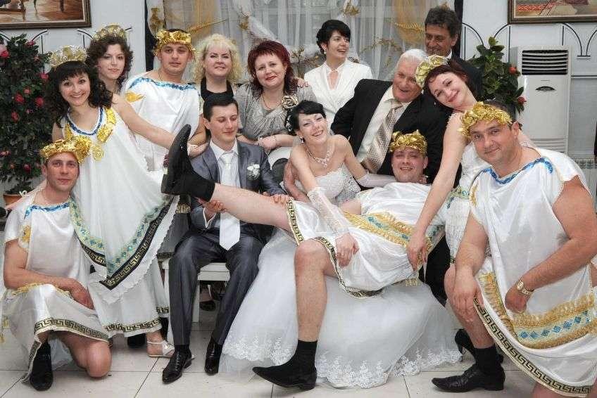 Конкурсы на свадьбе связаны с сексом