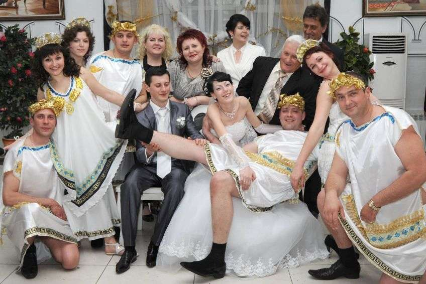 Конкурс с картинками на свадьбе