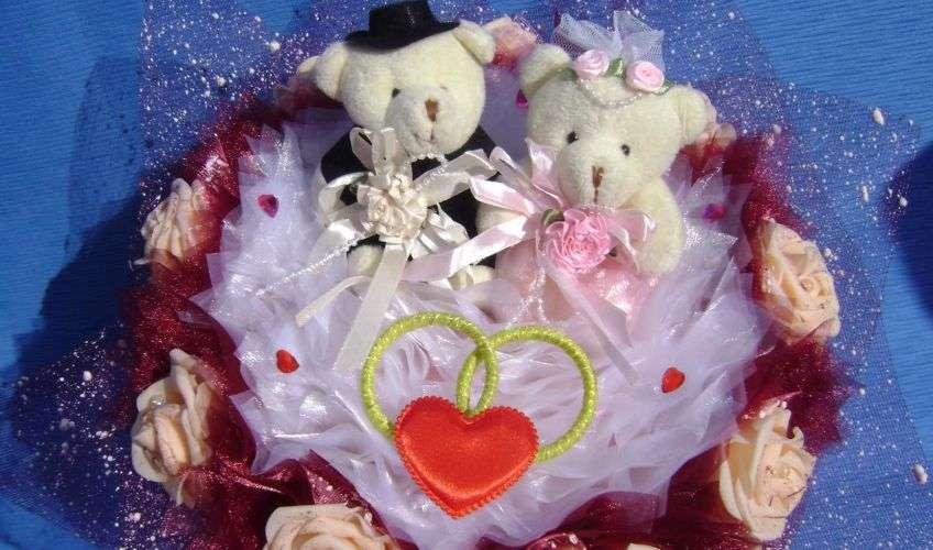 Искуственный букет невесты