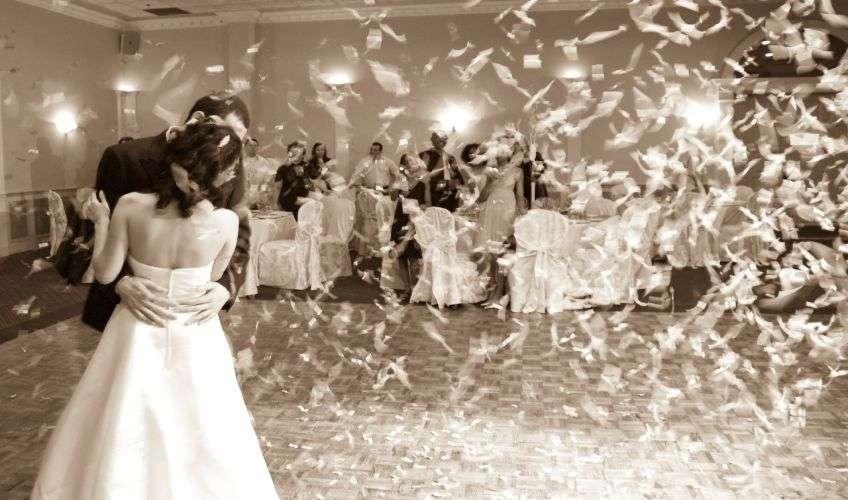 Организация конкурсов на свадьбе