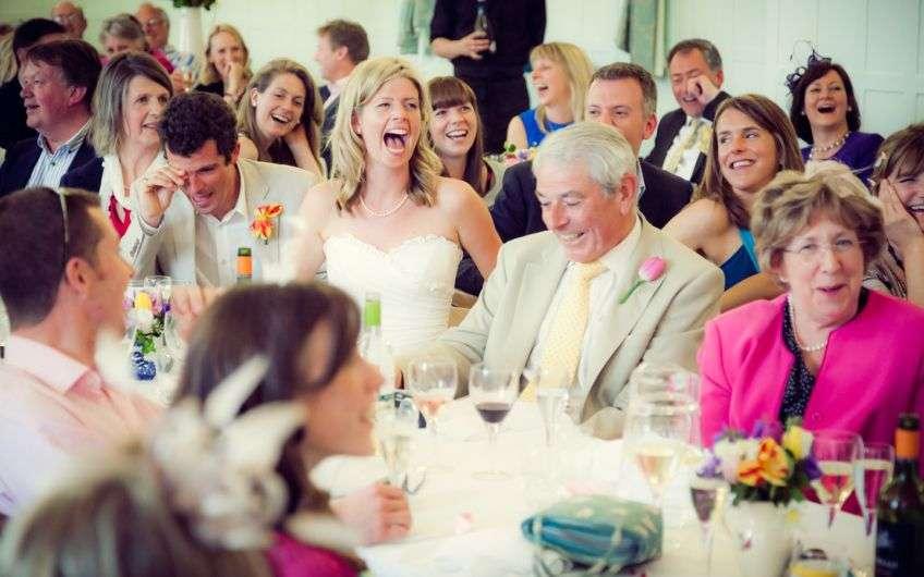 Поздравление на свадьбе молодых от близких