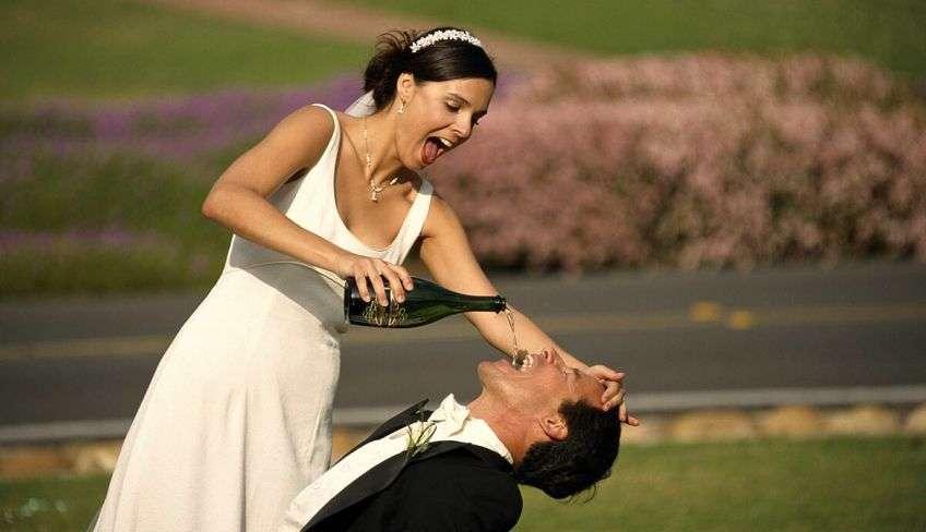 Свадебные приколы от молодоженов