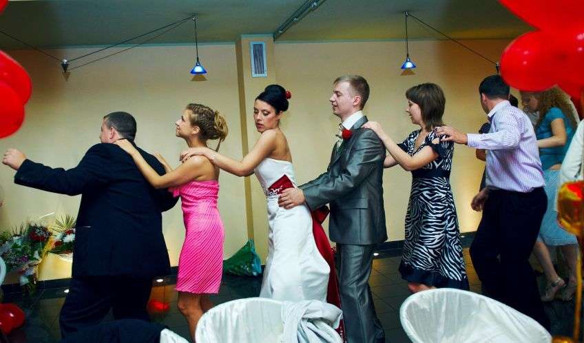 Игры за столом на знакомство свадьба