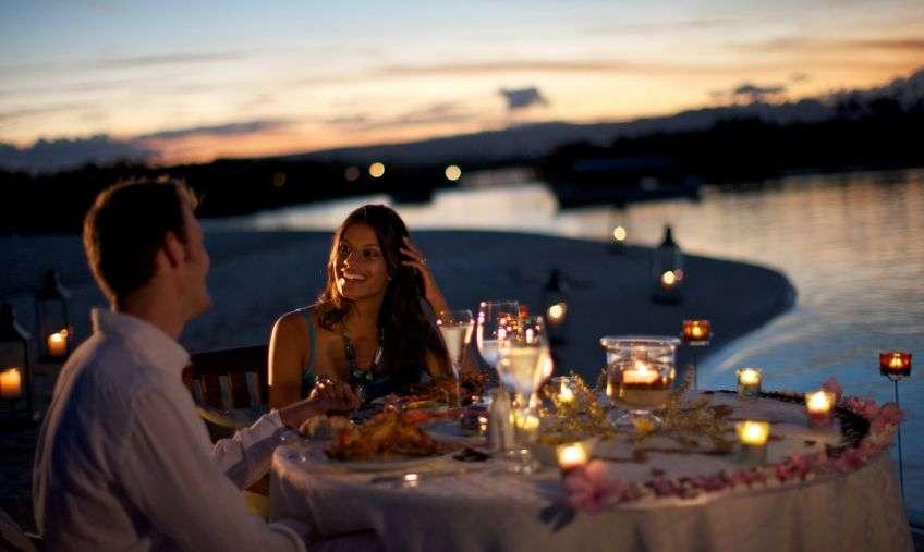 Примеры романтических свиданий