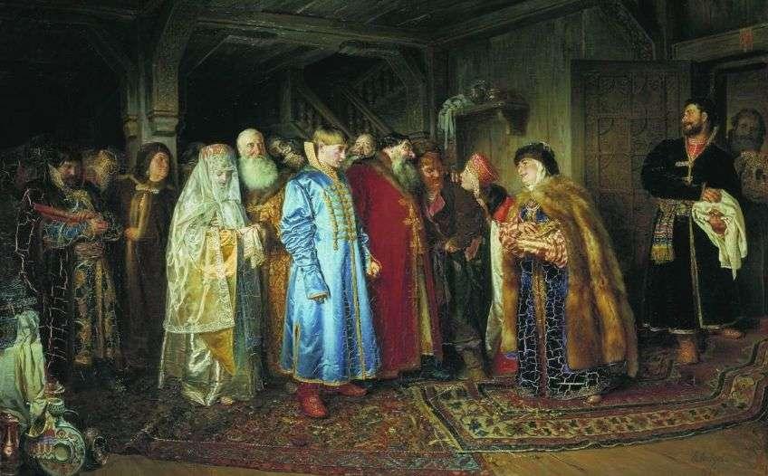 Древние традиции сватовства