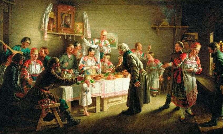 На Руси было много традиций на сватовство