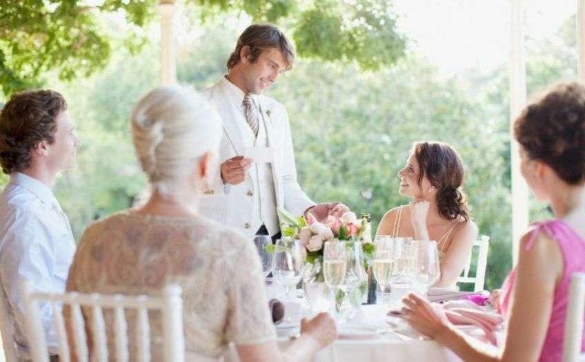 Тост на свадьбу короткие своими словами