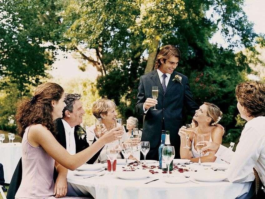 Сценарий на свадебный вечер в кругу семьи