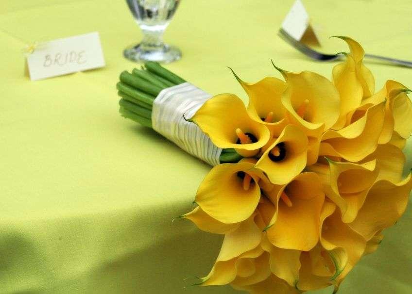 Букет цветов из калл