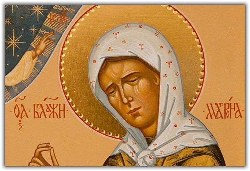 Молитва матронушке о беременности на русском языке текст