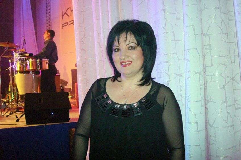 Певица Марина Хугутова