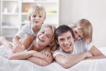 Любящая семья - результат большого труда