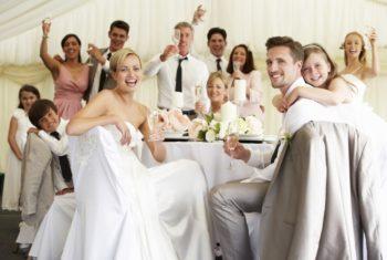 Маленькое свадебное торжество