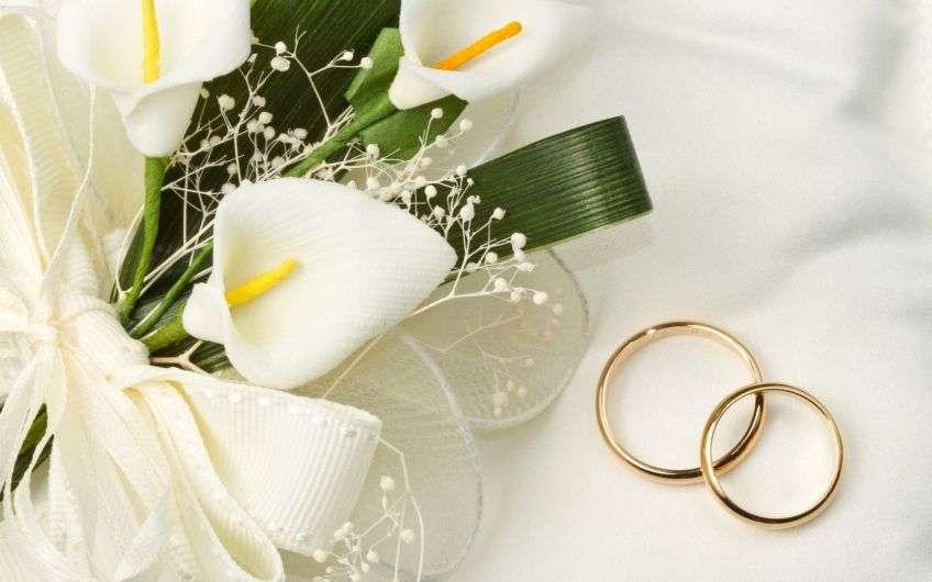 Конен, свадебные кольца открытки