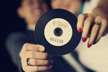 Приглашение на диске