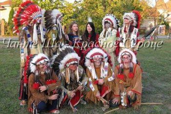 Индейское шоу на свадьбу