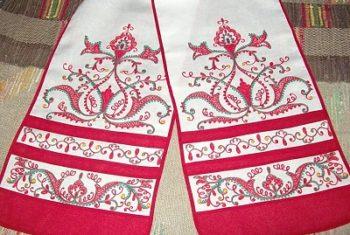 Заказать рушник на свадьбу