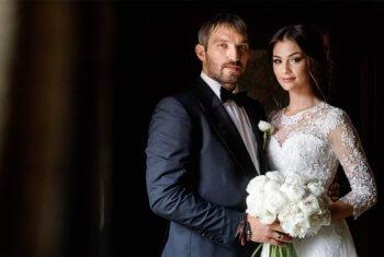 Шубская и Овечкин свадьба
