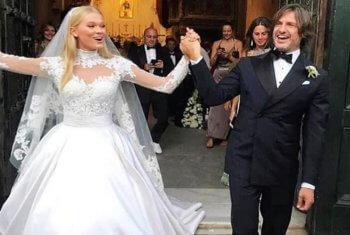 Виты Сидоркиной вышла замуж
